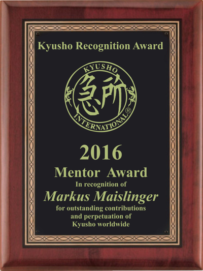 2019 Kyusho Recognition Awards – Voting